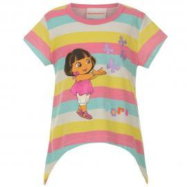 Dětské tričko Dora Barvené